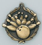 Wreath Medal -Bowling All Trophy Awards