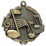 Wreath Medal -Music All Trophy Awards