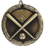 Baseball with Field Baseball Trophy Awards