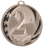 MidNite Star Medal -2nd Place Bowling Trophy Awards