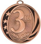MidNite Star Medal -3rd Place  Bowling Trophy Awards