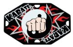 Street Tags -Karate  Color Star Medals
