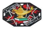 Street Tags -Lamp of Knowledge Color Star Medals