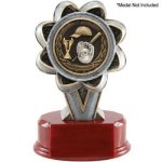 2 Insert Holder Resin Eagle Trophy Awards