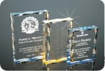 Scalloped Edge Plaque Acrylic Award Employee Awards