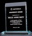 Apex Series Acrylic Award on Acrylic Base. Employee Awards