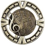 Music High Relief Medallion Awards
