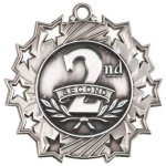 Ten Star Medal -2nd Place  Medals
