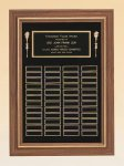 American Walnut Frame Perpetual Plaque Medium Perpetual Plaques