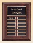 Cherry Finish Wood Perpetual Plaque Monthly Perpetual Plaques