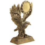 Eagle W/ 2 Ins Holder Resin Moto-Cross Trophy Awards