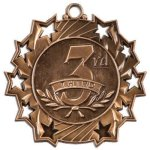 Ten Star Medal -3rd Place  Music Trophy Awards