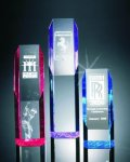 Slant Face Tower Acrylic Award Obelisk Awards