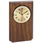 Walnut Clock Mount, Rounded Patriotic Awards