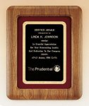 American Walnut Frame Plaque Religious Awards