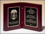 High Gloss Rosewood Book Plaque Sales Awards