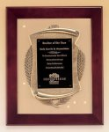 Rosewood Piano Finish Frame Plaque with Cast Relief Sales Awards