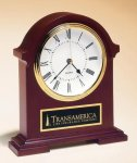 Napoleon Mantle Clock with Hand-rubbed Mahogany Finish Secretary Gift Awards