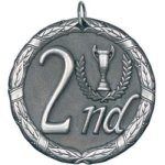 2nd Place Silver Soccer Trophy Awards
