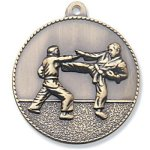 Karate Medal Sunray Medallion Awards
