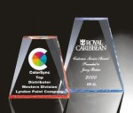 Beveled Wedge Acrylic Award Traditional Acrylic Awards