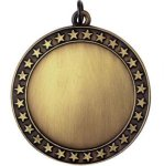 Blank Star Gold Volleyball Trophy Awards
